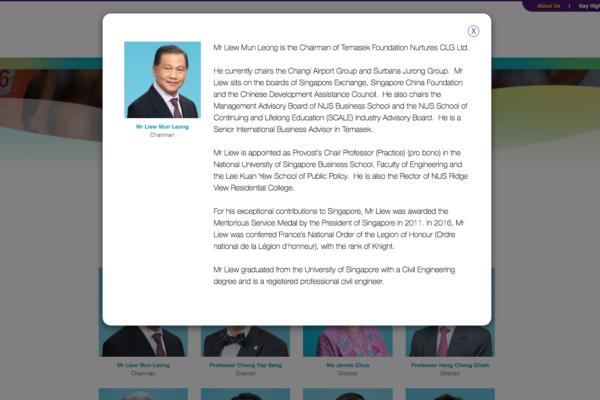 Board Management - Temasek Foundation Nurtures (1)
