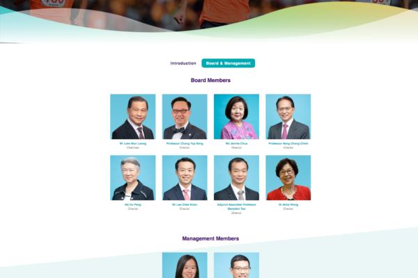 Board Management - Temasek Foundation Nurtures