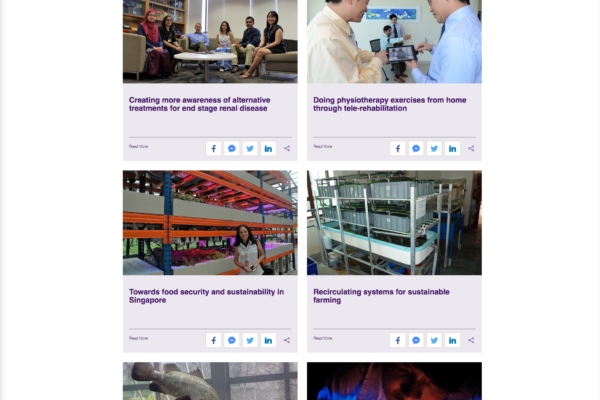 Featured Stories - Temasek Foundation Innovates