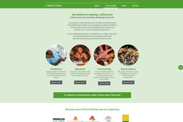 Kewalram Chanrai Group Intranet (2)