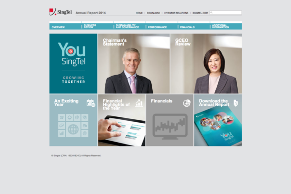 Singtel Annual Report 2014