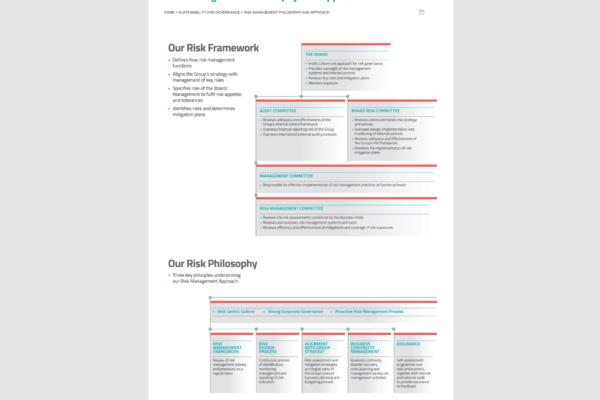 Singtel Annual Report 2014 Risk