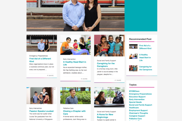 Temasek Foundation Cares - The Care Journal