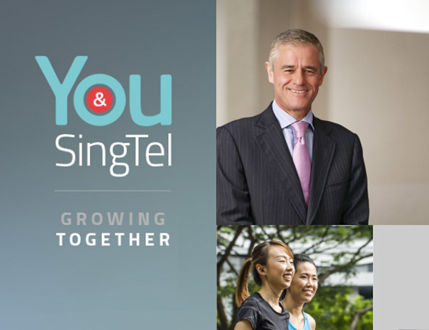 Singtel Annual Report 2014
